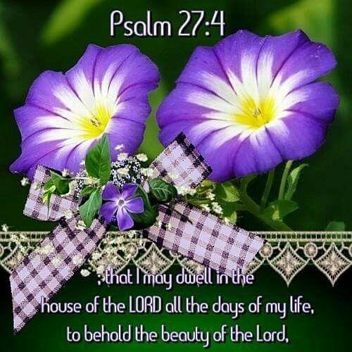 Psalm 27:4 KJV