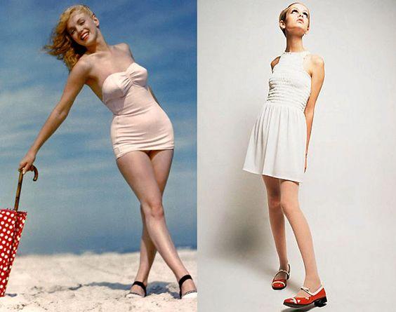 Twiggy ANOS 60 - Pesquisa Google A mudança do padrão de beleza | Até 1950, as mulhers ícones de beleza eram voluptuosas e curvilíneas. Ao mudar o panorama da moda nos anos 60, Twiggy ...
