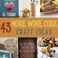 Want some wine cork crafts and projects to work on? If you don't have any idea with what to do with your wine cork collection, don't worry. This list of wine cork crafts will give you tons of options to choose from.   Wine Cork Crafts | Cool