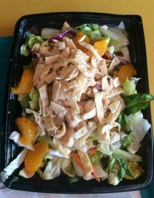 Asian Chicken Salad from Redd Rockett's Pizza Port