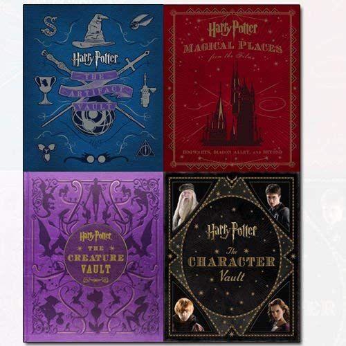 Jody Revenson Harry Potter Series 4 Books Collection Set The Artifact Vault The Character Vault The Creature Vault Mag Harry Potter Collection Potter Book Set