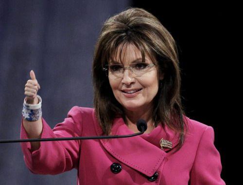 One Tiny Hand: Sarah Palin.