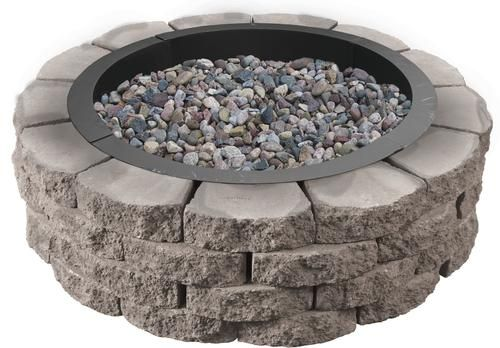36 Crestone Fire Ring Project 1 2 X 4 3 At Menards 36 Crestone Fire Ring Project 1 2 X 4 3 Fire Ring Landscape Materials Landscape Projects