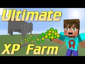 How To Make A Xp Farm In Minecraft Bedrock Minecraft Xp Farm How To Make An Xp Farm Minecraft Mob Grinder Lets Build Minecraft Tutorial Youtube Minecraft Mobs Minecraft Slime Minecraft