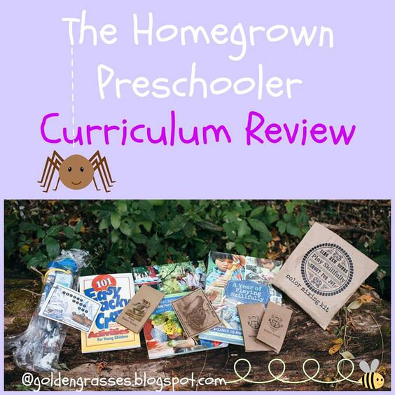 Golden Grasses: The Homegrown Preschooler- Review