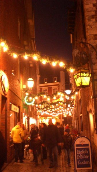 Aachen at Christmas #joingermantradition #Germany25reunified #InspiredBy