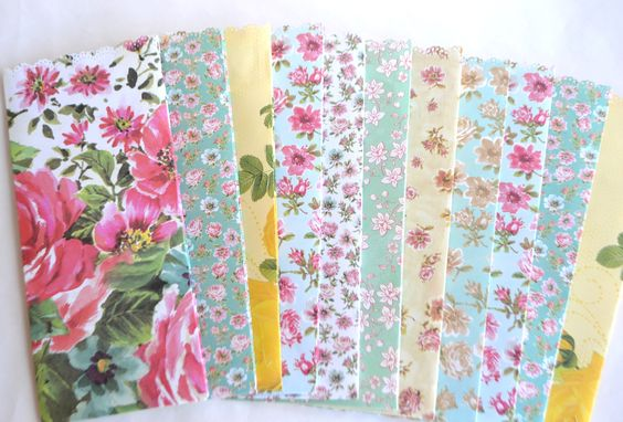 goodie bags floral and paper on pinterest