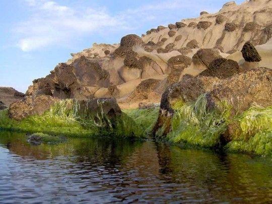 منظر طبيعي جميل لمنطقة سيدي القرشي ببلدية أزفون ولاية تيزي وزو الجزائر Natural Landmarks Nature Outdoor
