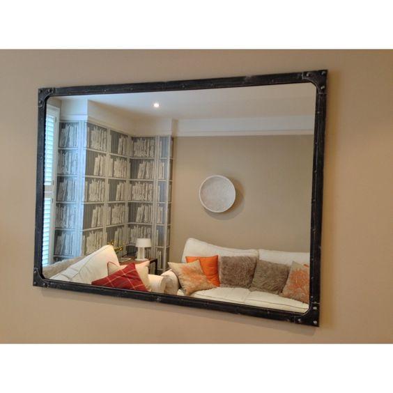 Nice New Large Mirror   Pewter   Steel Magnolias Furniture LTD Above Dressing  Table In Jack U0026