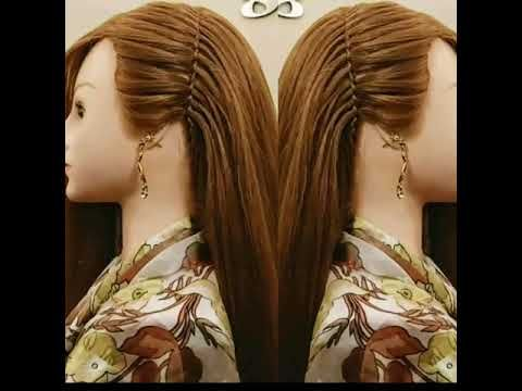 Very Simple Hair Style Youtube In 2020 Easy Hairstyles Hair Styles Very Easy Hairstyles