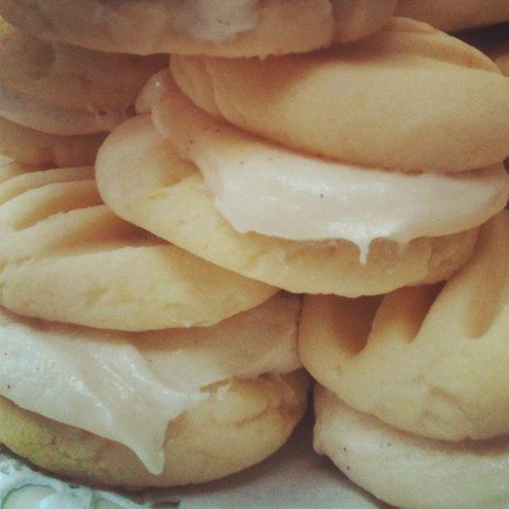 Lemon melt away cookies/Pinterest recipe!