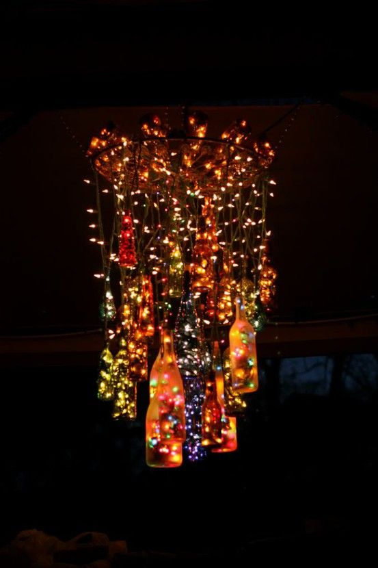 Oh, I'd so make this for Christmas decor just to see how it looks with the house lights turned off...