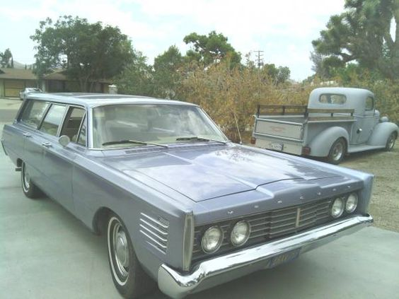 1965 Mercury Commuter Wagon -Yucca Valley $10,500
