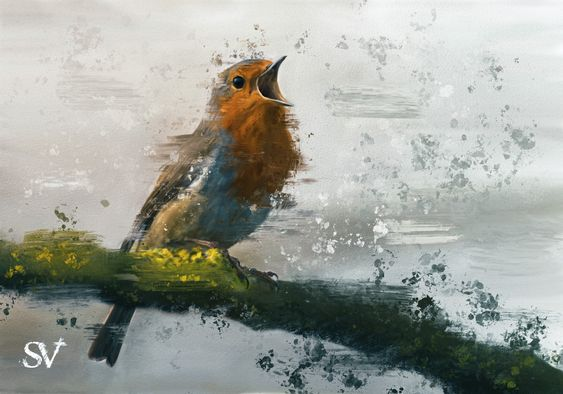 Digital Painting by Stefan Ellis (2021)