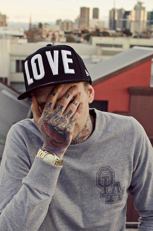 A guy with tattooed hand. #tattoo #tattoos #ink | M,TATTOOED ...