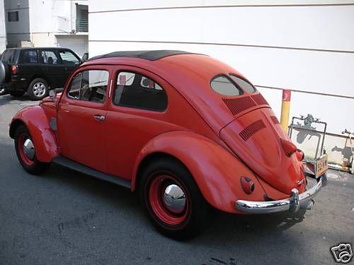 1952 Vw Beetle 1100 Split Window The Globe