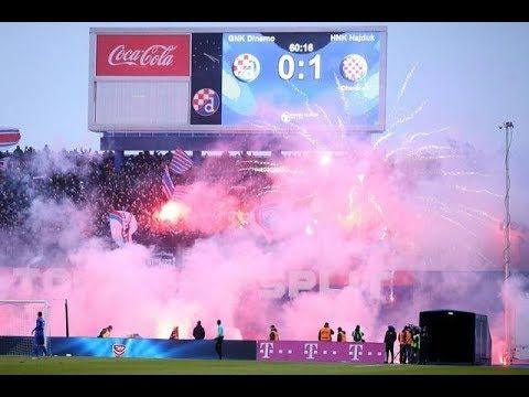 Https Youtu Be S60dgu Kbvmbig Croatian Derby Dinamo Zagreb Vs Hajduk Split 18 02 2018 Matchambience Ultras Hooligan Dinamozagreb Hajduksplit Croatia