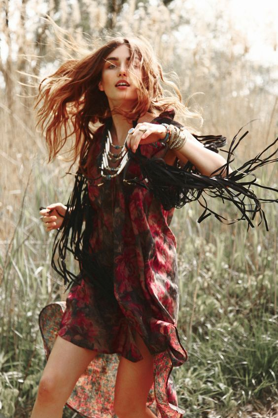 Free People June 2011 look book Model: Andreea Diaconu
