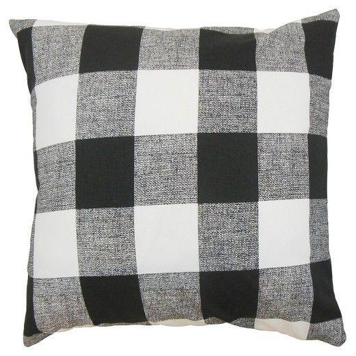Black And White Buffalo Check Pillow Buffalo Plaid Fabric Plaid Throw Pillows Throw Pillows Pillows