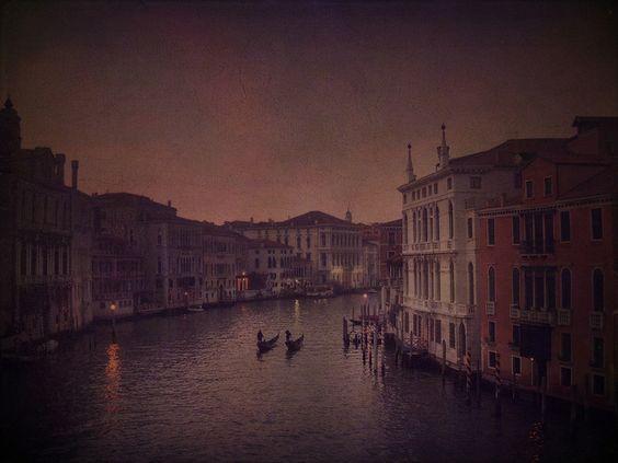 Le grand canal, Venise.