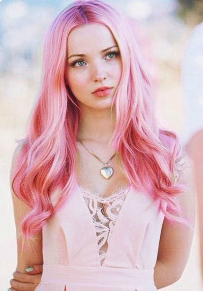 Dove Cameron Pink Hair Created By Kira The Trickster Using Ipiccy Dove Cameron Style Cameron Hair Dove Cameron