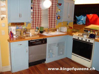 King Of Queens Kitchen Set Kitchen Remodel Pinterest King Kitchen Sets And King Of Queens