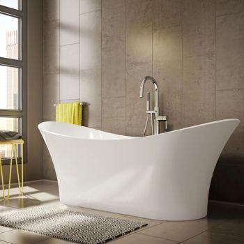 Jono Maeva Free Standing Tub And Faucet Combo 70 Inch White Tub. Move Freestanding Acrylic Bathtub Costco   Rukinet com