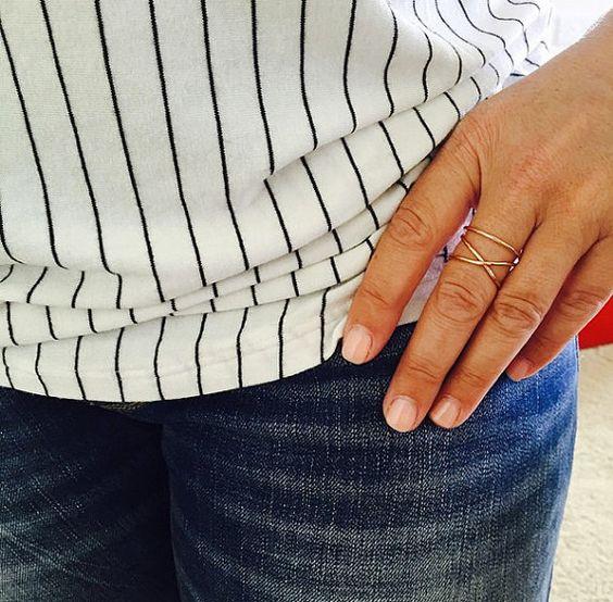 2 in 1 Wrapped Rose Gold Ring by BohoBumMaui on Etsy #rosegold