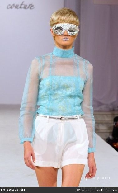 Model - Style Fashion Week Spring/Summer 2013 - Ash Haute Couture - Runway