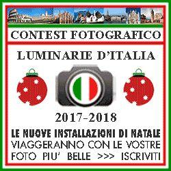 Concorso Fotografico LUMINARIE D'ITALIA 2017 - Italia Meravigliosa