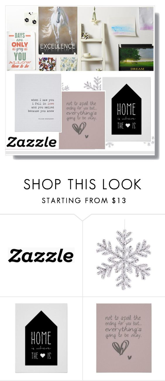"""Zazzle.co.uk"" by fashion-all-around ❤ liked on Polyvore featuring interior, interiors, interior design, home, home decor, interior decorating and zazzle"