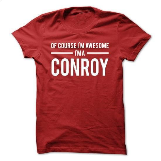 Team Conroy - Limited Edition - cool t shirts #grey hoodie #cute sweater