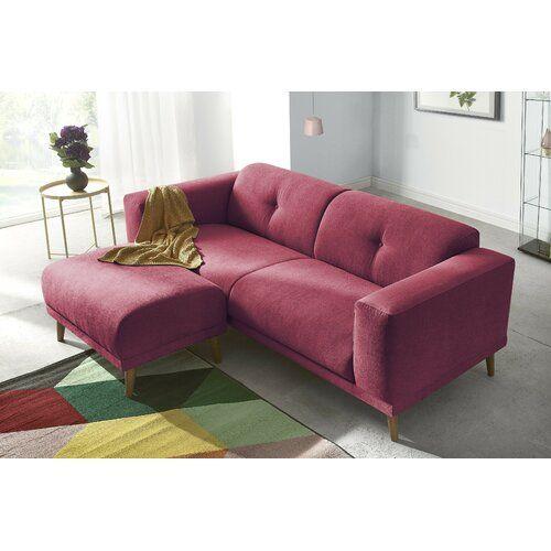 Sofa Aryanna Fjorde Co Polsterfarbe Rot Sofa Sofa Design Home Decor