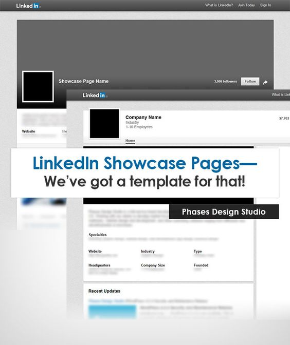 LinkedIn Company Profile Template Marketing Your Brand - profile templates