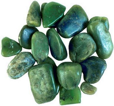 The most valuable form of jade is the Imperial jade. It is an emerald green color. The rarer colors are yellow, pink, purple and black. In ancient Egypt, jade was admired as the stone of love, inner peace and harmony