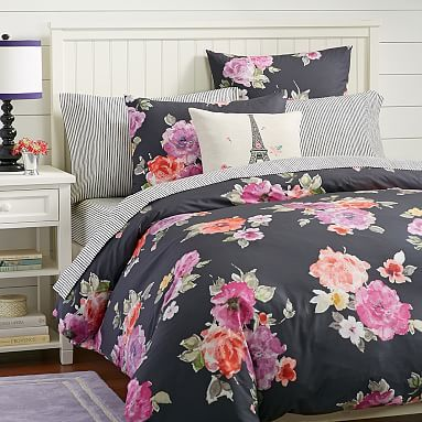 Vintage Bloom Duvet Cover + Sham #pbteen