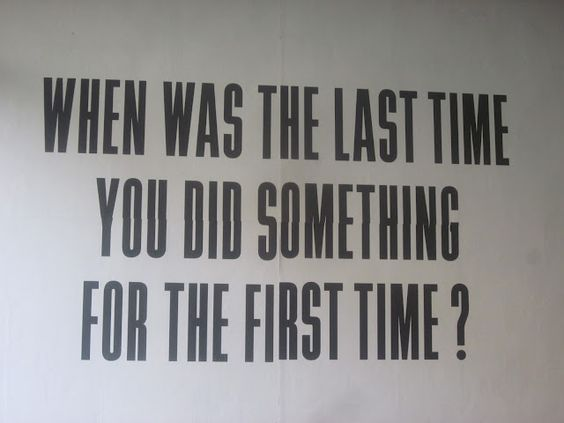 When was the last time?