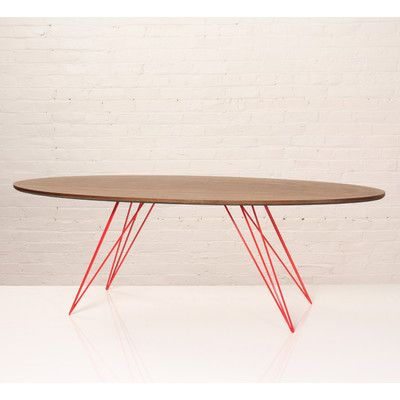 Tronk Design Williams Coffee Table Finish: Red