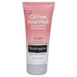 Neutrogena Oil-Free Acne Wash Pink Grapefruit 6 oz. (Pack of 3) by Neutrogena. $17.15. Cream Cleanser,. Grapefruit Facial Cleanser. Neutrogena Oil-Free Acne Wash. Oil-Free Acne Wash Pink. Clears Breakouts and Blackheads with a Blast of Pink Grapefruit Neutrogena Oil-Free Acne Wash Pink Grapefruit Cream Cleanser contains maximum-strength salicylic acid acne medicine that powerfully clears blemishes and blackheads--all with an uplifting blast of pink grapefruit. The formula crea...