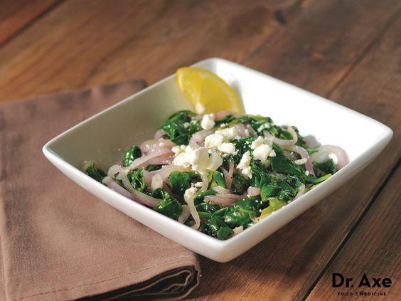 Grecian Spinach Recipe