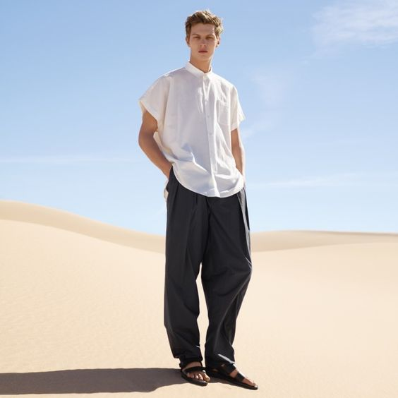 COS Heads to Desert for Spring Ads