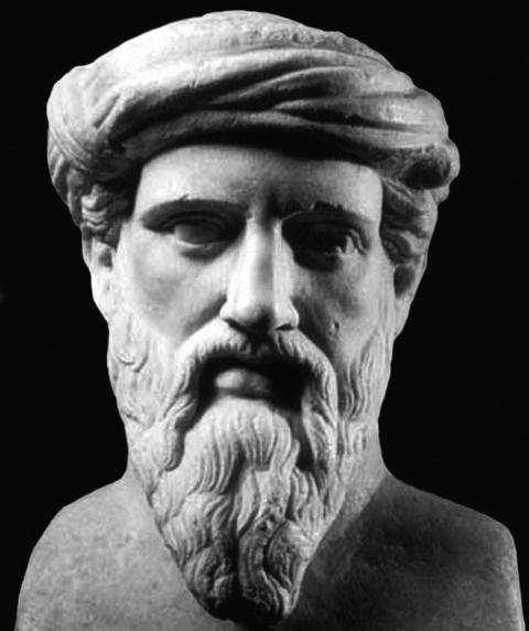 Pitágoras passou os primeiros anos da sua vida na Ilha de Samos, por volta do ano 532 a.C. atingiu a sua maturidade, durante o reinado de Polícrates. Diz-se que abandonou Samos para escapar à tiran…