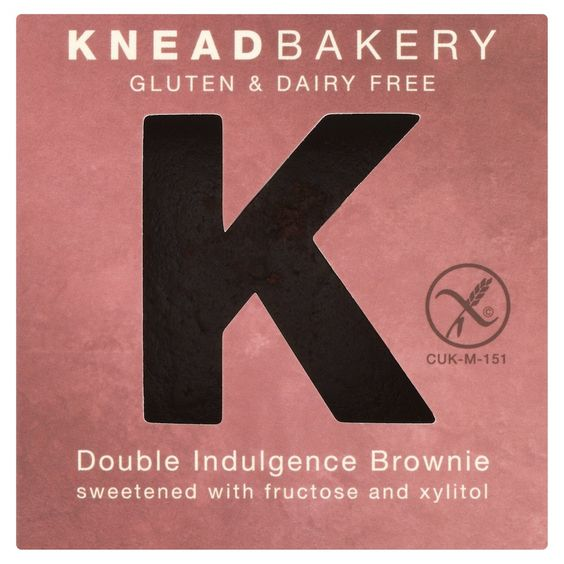 Knead Bakery - Double Indulgence Brownie.
