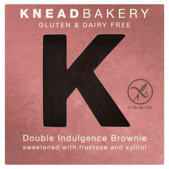 Knead Bakery - Double Indulgence Brownie.