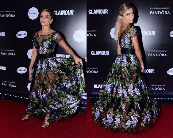 Os looks e o nosso tricô no Prêmio Geração Glamour