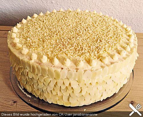 Alte schlesische Pudding - Buttercreme - Torte