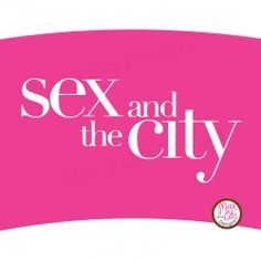 Printable cupcake wrapper for Sex and the City themed party #sexandthecity