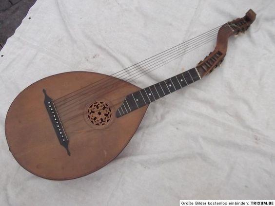Theorbe luth basse instrument de musique du moyen age musicien et musique m di vale les - Photo d instrument de musique ...