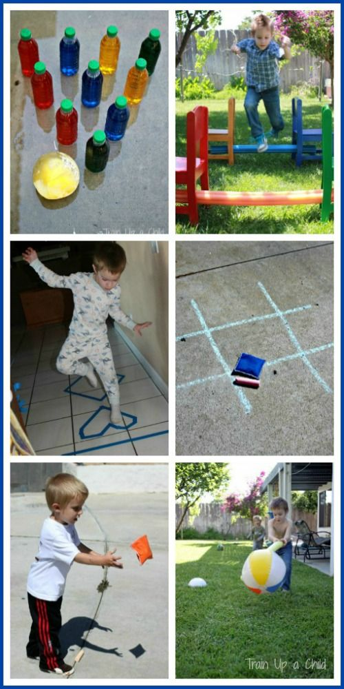 Homemade Gross Motor Games To Play With Your Kids Most