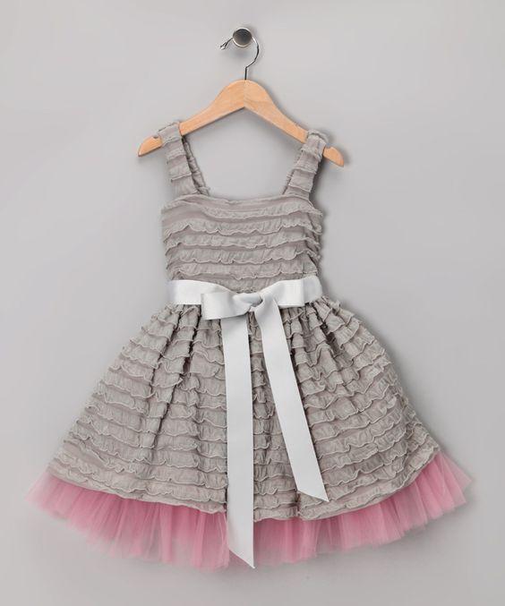 Ruffle Dress Ruffles And Gray On Pinterest